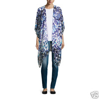 Mixit Scarf Kimono Butterfly Swim Coverup One Size Msrp $45.00