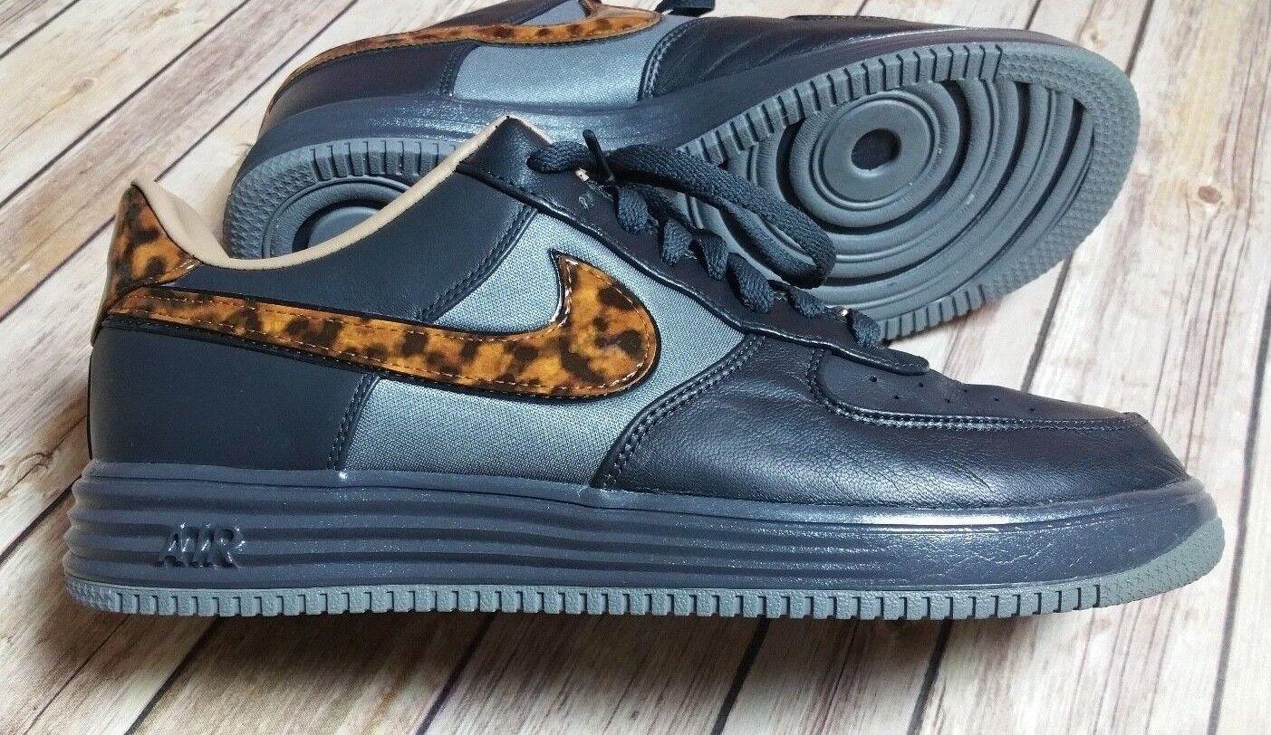 Nike Lunar Force 1 ciudad QS Milan Leopard antracita antracita antracita / negro gris 602862-001 reducción de precios baratos y de moda hermosa 6a4acb