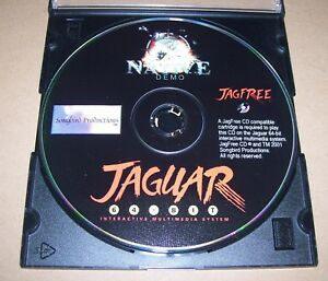Atari-Jaguar-64-BIT-Console-de-Jeux-CD-ROM-DEMO-New-jagfree-Songbird-Productions