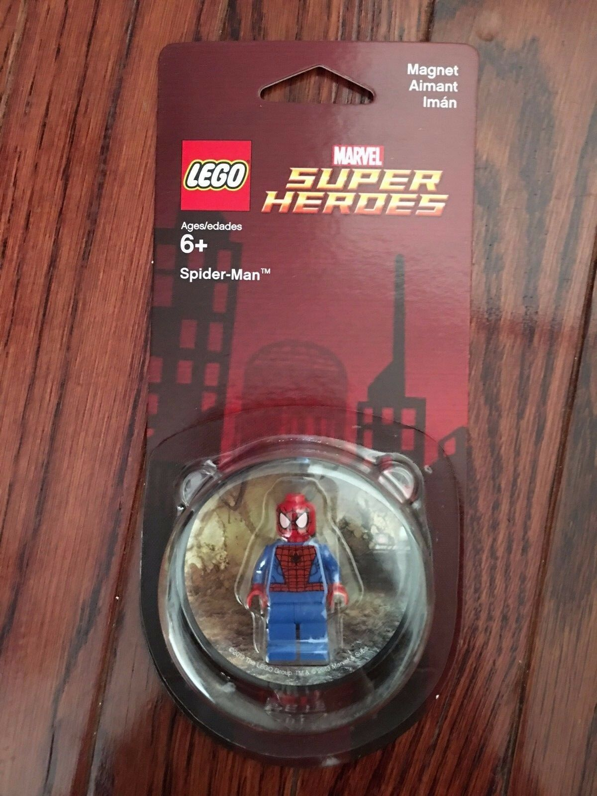 NEW Lego Marvel Super Heroes Spider-Man Magnet 850666 , SEALED