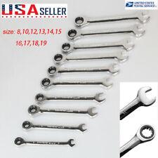 Hot 8mm 19mm Reversible Flexible Ratchet Wrench Socket Spanner Metric Ratchet Lz