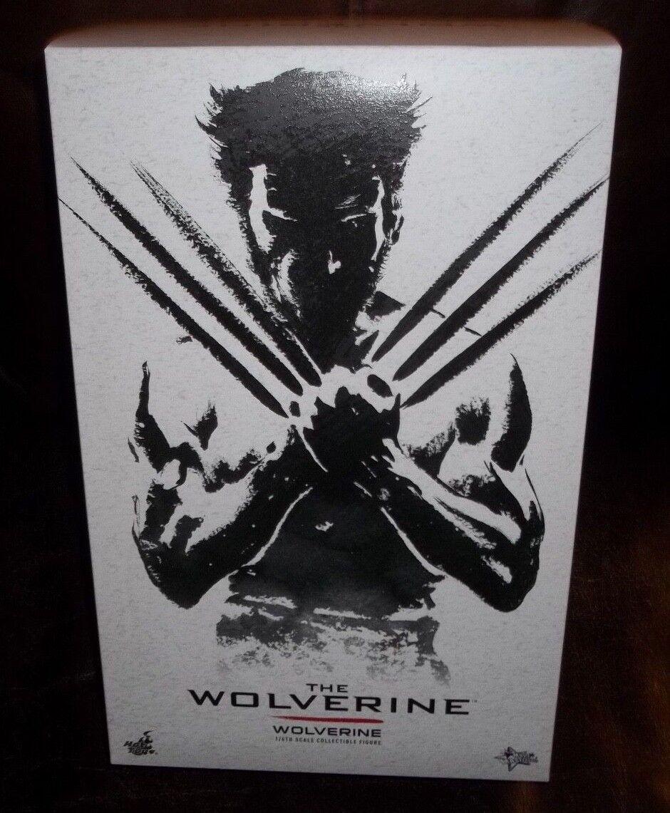 Hot Juguetes 12  1 6 escala 2011 figura de la película Wolverine Hugh Jackman Sideshow