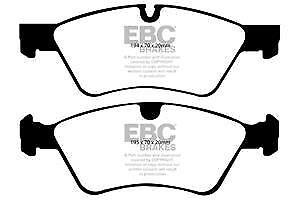 DP1592 EBC Ultimax FRONT Brake Pads fit MERCEDES