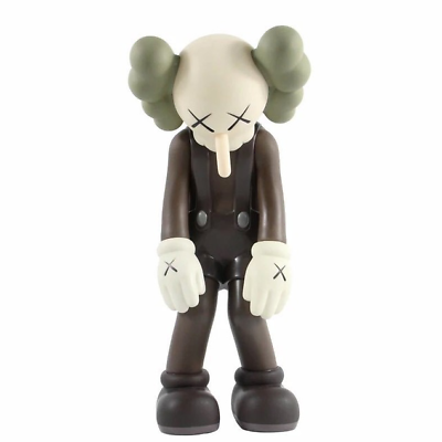 "16/"" Kaws Passing Through Medicom Art Figure Limited  Grey Black Brown  2020"