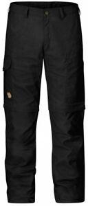 Fjaellraeven-Karl-Zip-Off-Trousers-Herren-Trekkinghose-Dark-Grey