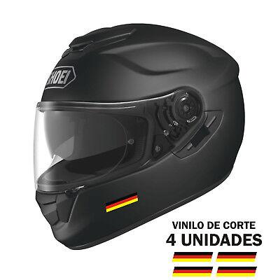 Fedele Pegatinas Sticker Vinilo Bandera De Alemania - Bike - Bici - Moto Casco Coche
