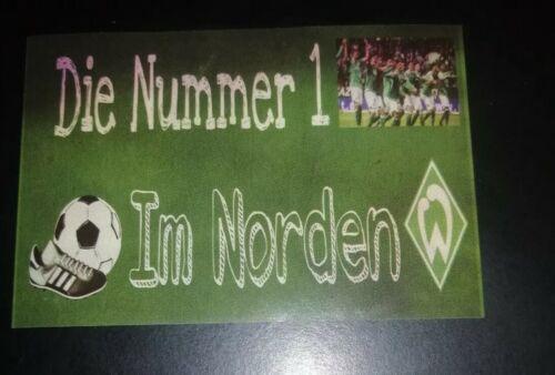 Werder Bremen Aufkleber Ultras 25 Stück