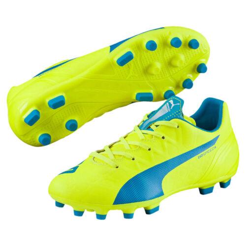 Puma Evospeed 4.4 AG Junior Chaussures de foot enfants Synthétique Cuir Speed-Concept
