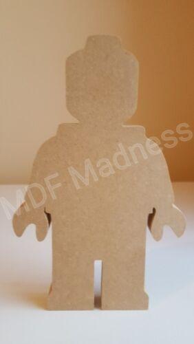 MDF CRAFT SHAPE WOODEN LEGO MAN