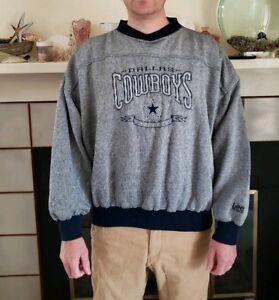 size 40 0b74c e81f1 Details about Vintage Dallas Cowboys Sweatshirt Lee Sport Mens Size XL Blue  White Cotton Blend