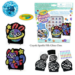 Crayola-Kids-Creative-Fun-Multi-Coloured-Glitter-Dots-Sparkle-Fills-Artwork