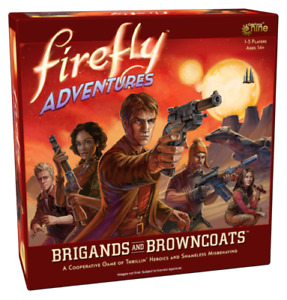 FIREFLY ADVENTURES BRIGANDS AND BROWNCOATS - GALE FORCE NINE - SENT 1ST CLASS