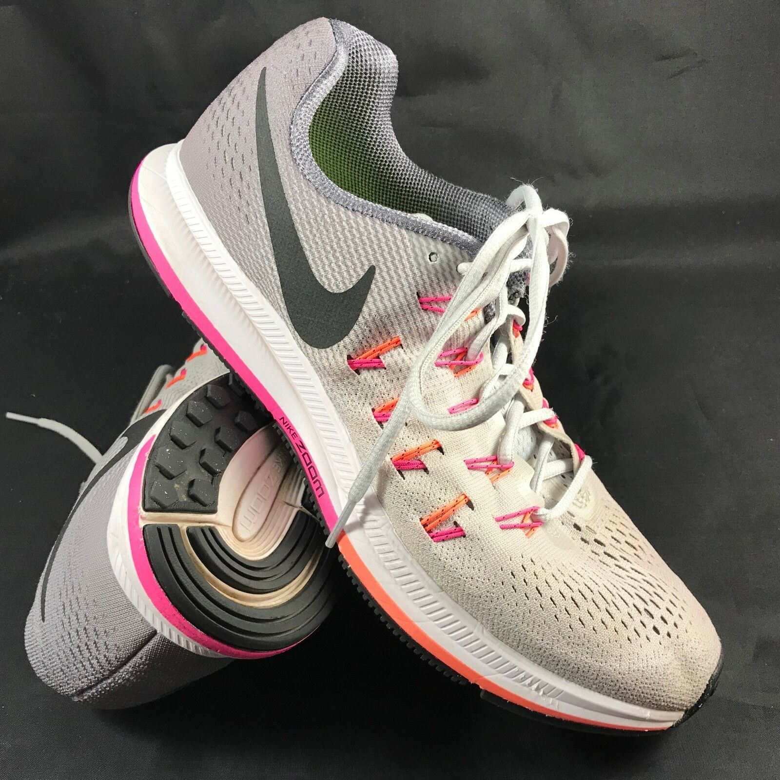 NIKE AIR ZOOM PEGASUS+ 33 Womens Size 10.5 42.5 EUR,  125 Grey