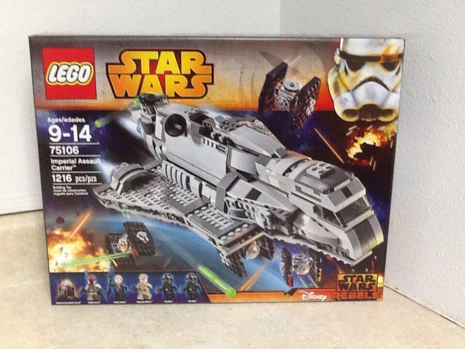 Lego Star Wars Imperial Assault Transporteur 75106