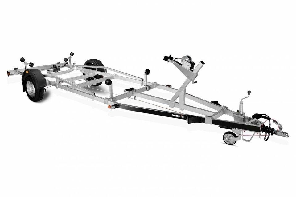 Trailer, Brenderup Brenderup SRX 1500 KG - 20 fod, lastevne