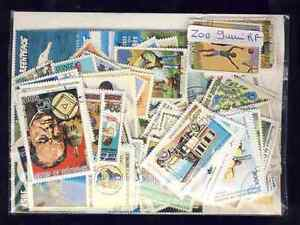 Guinee-Francaise-French-Guinea-200-timbres-differents