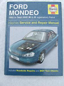 ford mondeo 1993 2000 petrol 1923 haynes service repair manual k rh ebay co uk Haines Manual Ford Mondeo 1993 Clip Art Ford Mondeo 1993