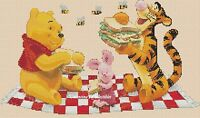 Counted Cross Stitch Winnie The Pooh And Friends - Complete Kit 10-41 Kit