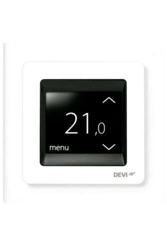 Devireg tocco termostato programmabile Bianco 140F1064