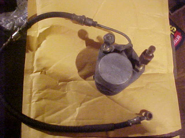 1973 YAMAHA SR SNOWMOBILE BRAKE SYSTEM USED