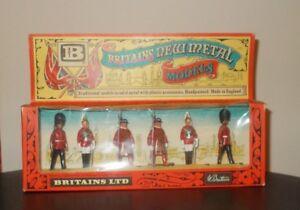 Acheter Pas Cher Vintage Coffret Britains New Métal Modèles No.7225-afficher Le Titre D'origine