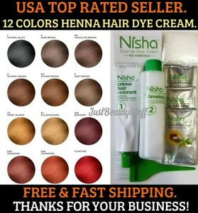 Details about HONEY BLONDE HENNA HAIR COLOR CREAM DYE GRAY WHITE HAIR 12  COLORS USA SELLER