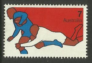 AUSTRALIA-1974-Sports-Single-RUGBY-Value-MNH