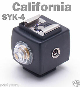 SEAGULL-SYK-4-Hot-Shoe-Flash-Slave-Trigger-with-PC-Sync-SYK4-Remote-Controller