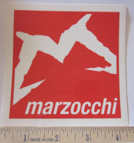"4/"" MARZOCCHI FREE RIDE Mountain Bike Race DECAL STICKER"