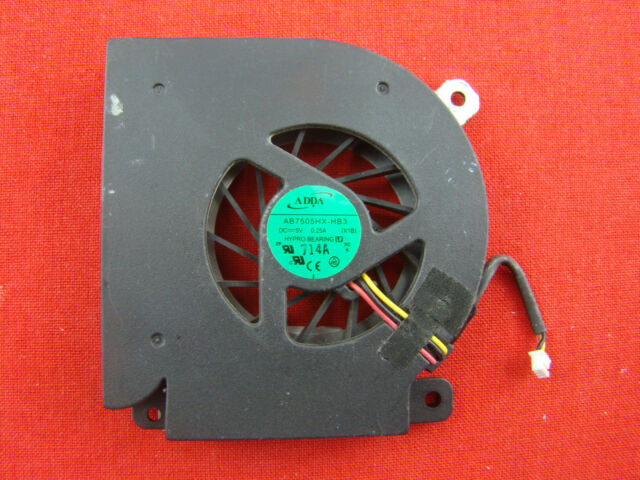 Clevo Hyrican  Lüfter Cooling Fan AB7505HX-HB3 0.25A DC5V #KZ-3149