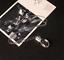 Kristallkugel-Echt-Loewenzahn-Samen-Wuenschen-Wunsch-Halskette-Lang-Silberkette
