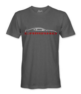 Chevrolet-Camaro-Men-039-s-6th-GEN-T-Shirt