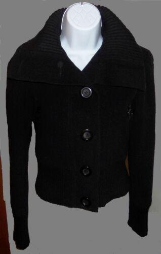 Taille Collar Kvinder Express Peacoat Størrelse Sort Zip Xs Ribbed Woolblend Lommer xHvqqwA0Y