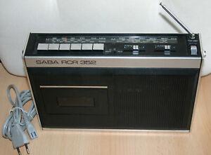 SABA-RCR-352-Cassettenradiorecorder