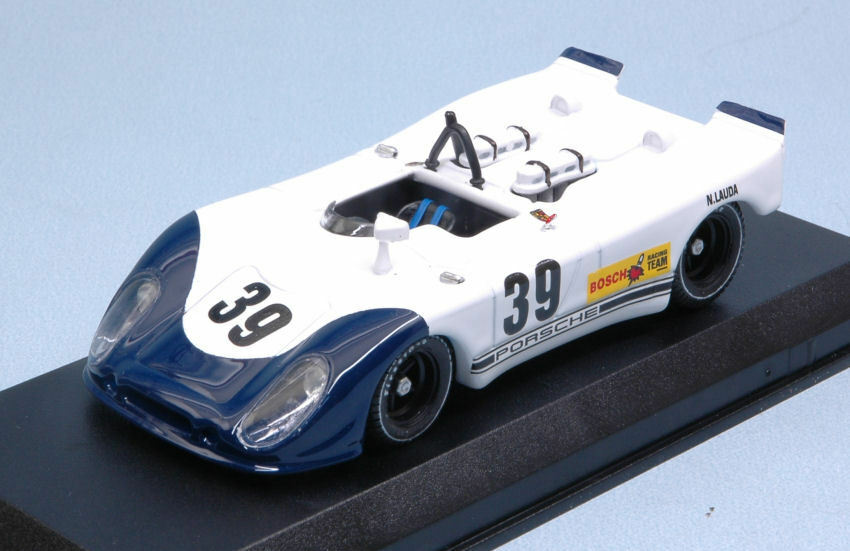 Porsche 908 02 platija  39 8th Interserie Norisring 1970 n. lauda 1 43 Model