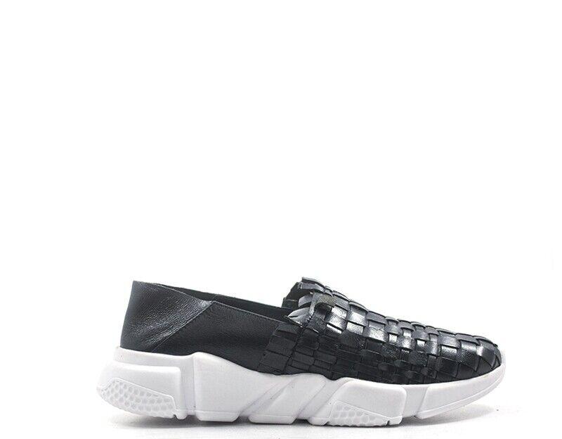 shoes CAMILA women Slip On  black Pelle naturale CAM19-129.NE.01