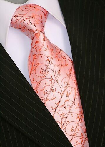 Binder de LUXE DESIGNER Cravate plastron cravates set tie 166 Orange pcs.