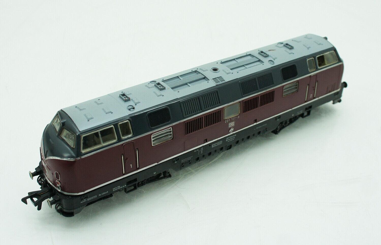 Fleischmann h0 4235 diesellok Lok Dr 221 131 - 6 rosso oscuro