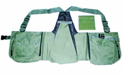 Hawking Vert citron chasse bird conservation Codura Vest Falconry Vest L /& XL