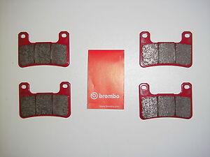 Brembo-Bremsbelaege-Bremskloetze-Bremsbacken-Bremse-vorne-Suzuki-GSXR-1000