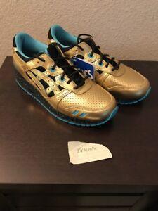 best sneakers df486 ba2fc Details about Asics Gel Lyte III x Wale x Villa Gold