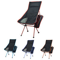Outdoor Portable Lightweight Folding Seat Stool Beach Fishing Camping Chair+bag