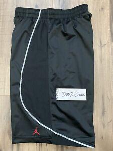 Nuevo Vuelo De Air Jordan Baloncesto Pantalones Cortos Negro 178978 010 Talla Grande Raro Ebay