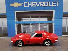 1968 Chevy Corvette RED RARE 1/64 LIMITED EDITION DIECAST COLLECTIBLE MODEL CAR