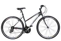 Ammaco Cs250 Ladies Alloy Sports Hybrid Urban Trekking Bike 16 Frame Grey