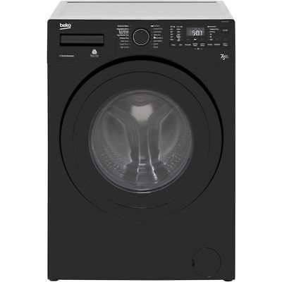 Beko WDR7543121B Free Standing 7Kg A Washer Dryer Black New from AO