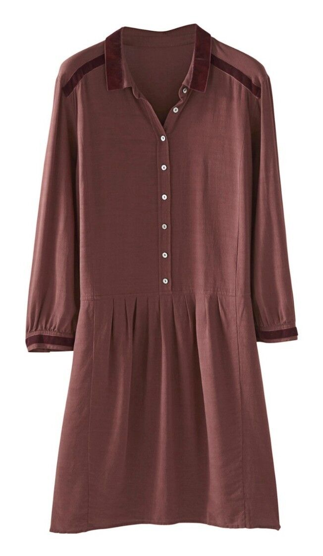 A15Wrap Emilia Emilia Emilia Dress In Raisin Colour Size RRP ee0546