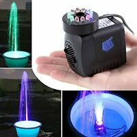 Gbgs 297 Gph, Submersible Pump With Light For Aquarium/hydroponics/fountain/gard on sale