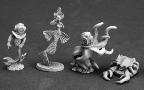 4 Dark Heaven Legends Reaper 03608 Aquatic Familiars 2