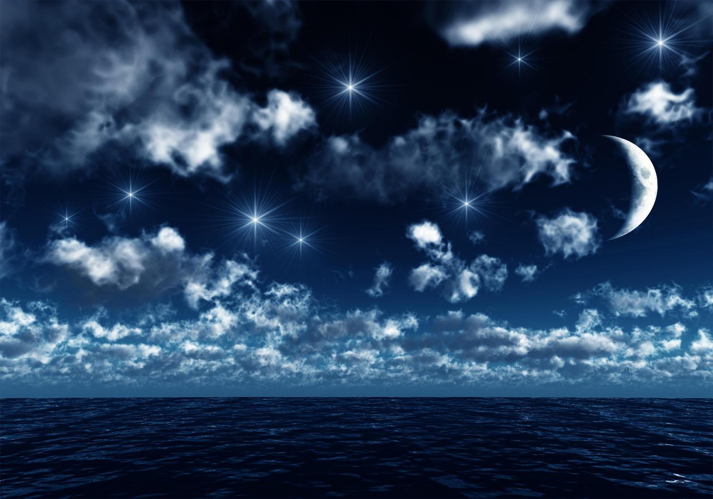 Fototapete Nachthimmel  Tapete Vliestapete